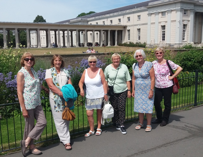 Alpha Members at Greenwich